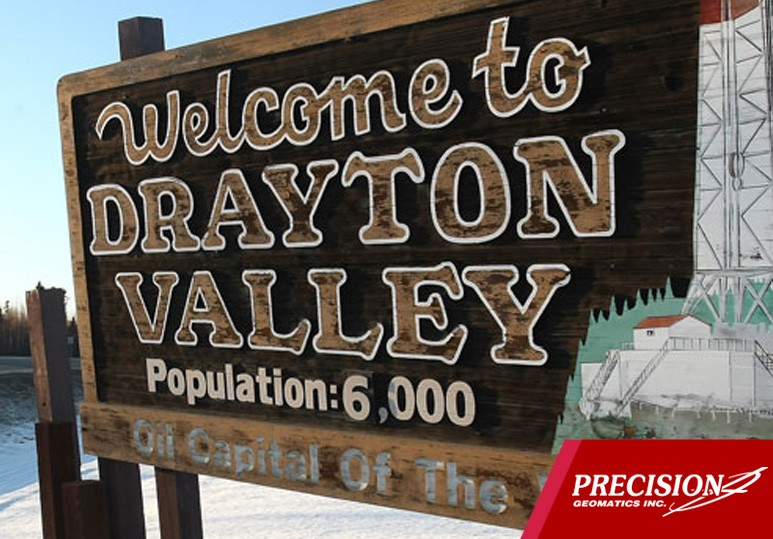 Precision Geomatics Inc. opens Branch office in Drayton Valley